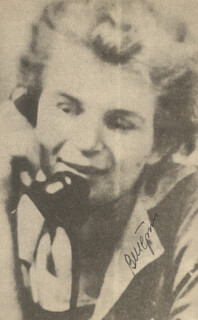 MAJOR GENERAL VALENTINA TERESHKOVA - NEWSPAPER PHOTOGRAPH SIGNED