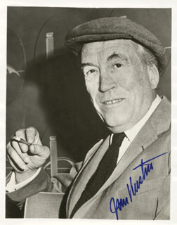 JOHN HUSTON - AUTOGRAPHED SIGNED PHOTOGRAPH