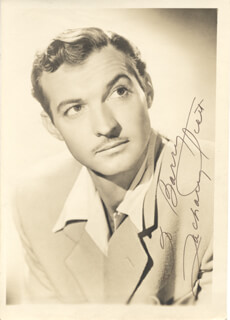 ZACHARY SCOTT - AUTOGRAPHED INSCRIBED PHOTOGRAPH