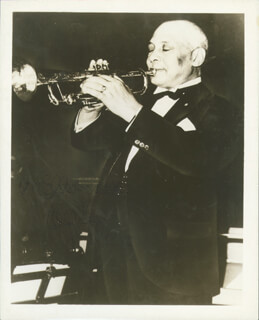W.C. HANDY - AUTOGRAPHED INSCRIBED PHOTOGRAPH 08/16/1950