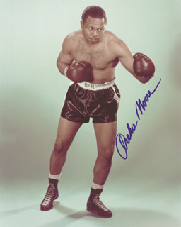 ARCHIE MOORE - AUTOGRAPHED SIGNED PHOTOGRAPH