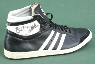 BILL WALTON - BASKETBALL SHOE DOUBLE SIGNED