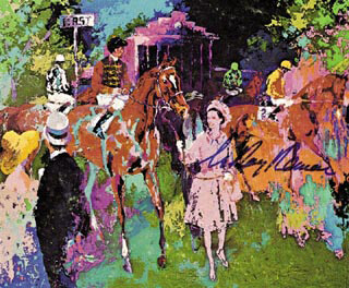 LEROY NEIMAN - PRINTED ART SIGNED IN INK