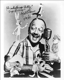MEL BLANC - AUTOGRAPHED INSCRIBED PHOTOGRAPH 02/18/1969