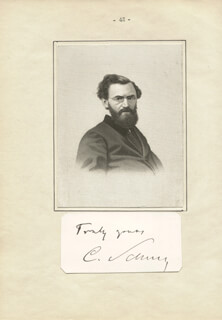 Autographs: MAJOR GENERAL CARL SCHURZ - AUTOGRAPH SENTIMENT SIGNED