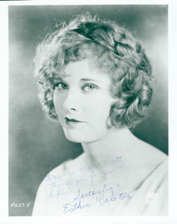 ESTHER RALSTON - AUTOGRAPHED INSCRIBED PHOTOGRAPH