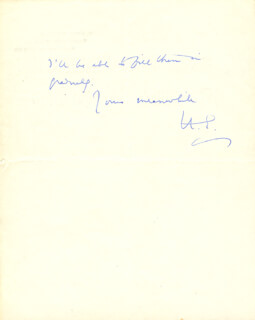 HAVELOCK HENRY ELLIS - AUTOGRAPH LETTER SIGNED