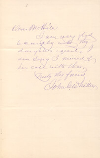 JOHN GREENLEAF WHITTIER - AUTOGRAPH LETTER SIGNED