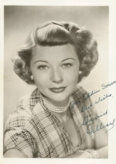 Harriet Hilliard Nelson Autographs 174011