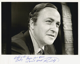ROGER GRIMSBY - AUTOGRAPHED INSCRIBED PHOTOGRAPH