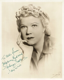 KATHRYN CRAVENS - AUTOGRAPHED INSCRIBED PHOTOGRAPH 08/14/1950