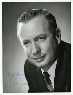 ROBERT C. PIERPOINT - AUTOGRAPHED SIGNED PHOTOGRAPH