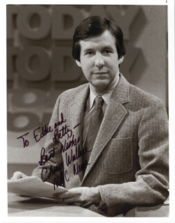 CHRIS WALLACE - AUTOGRAPHED INSCRIBED PHOTOGRAPH
