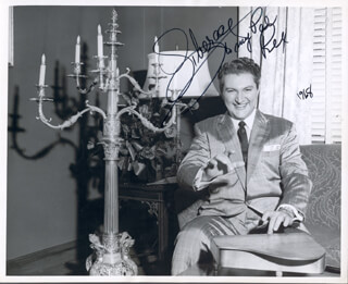 LIBERACE - AUTOGRAPHED INSCRIBED PHOTOGRAPH 1968