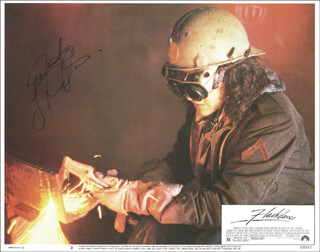 JENNIFER BEALS - LOBBY CARD SIGNED