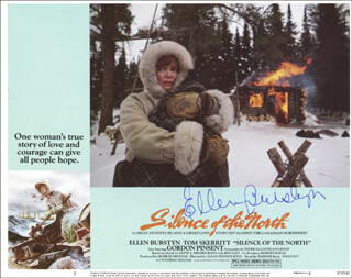 ELLEN BURSTYN - LOBBY CARD SIGNED