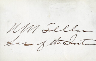 Autographs: MAJOR GENERAL HENRY M. TELLER - SIGNATURE(S)