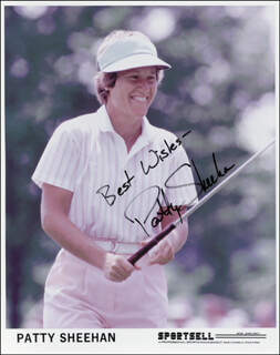 PATTY SHEEHAN - AUTOGRAPHED SIGNED PHOTOGRAPH