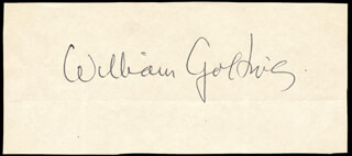 Autographs: SIR WILLIAM GOLDING - SIGNATURE(S)