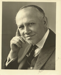 CARL LAEMMLE SR. - AUTOGRAPHED INSCRIBED PHOTOGRAPH