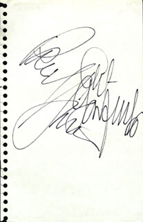 SIMON & GARFUNKEL - AUTOGRAPH CO-SIGNED BY: ART GARFUNKEL, PAUL SIMON