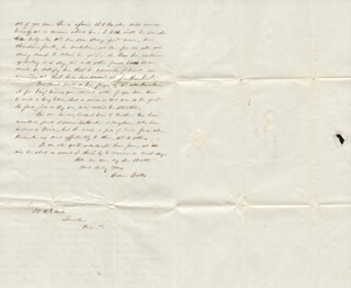 GIDEON WELLES - AUTOGRAPH LETTER SIGNED 08/24/1853  - HFSID 174748