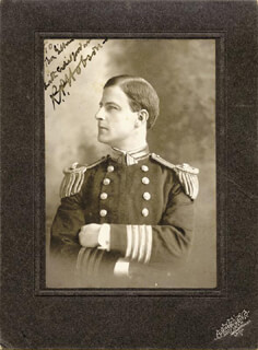 REAR ADMIRAL RICHMOND P. HOBSON - AUTOGRAPHED INSCRIBED PHOTOGRAPH