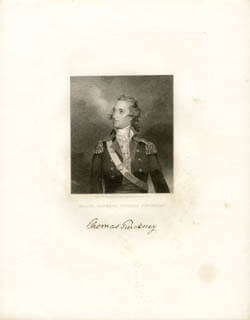 THOMAS PINCKNEY - ENGRAVING UNSIGNED