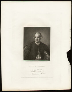JOSEPH WARREN - ENGRAVING UNSIGNED