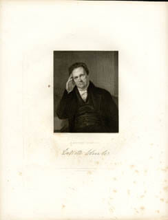 GOVERNOR DEWITT CLINTON - ENGRAVING UNSIGNED