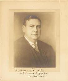 CHIEF JUSTICE HARLAN F. STONE - INSCRIBED PHOTOGRAPH MOUNT SIGNED