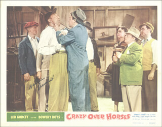 WILLIAM BILLY BENEDICT - LOBBY CARD SIGNED