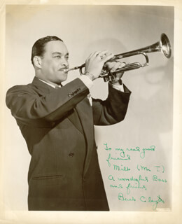 BUCK CLAYTON - AUTOGRAPHED INSCRIBED PHOTOGRAPH