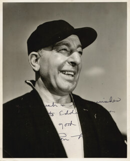 LOU LITTLE - AUTOGRAPHED SIGNED PHOTOGRAPH