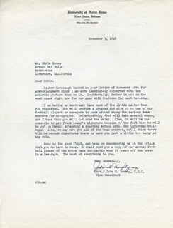 JOHN H. MURPHY - TYPED LETTER SIGNED 12/03/1948