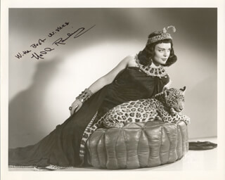 NELL RANKIN - AUTOGRAPHED SIGNED PHOTOGRAPH