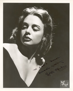 NELL RANKIN - AUTOGRAPHED INSCRIBED PHOTOGRAPH
