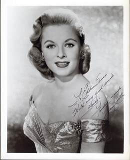 MARY COSTA - AUTOGRAPHED INSCRIBED PHOTOGRAPH