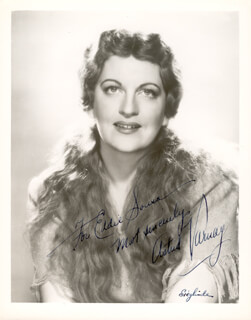 ASTRID VARNAY - AUTOGRAPHED INSCRIBED PHOTOGRAPH
