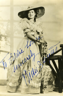 BIDU SAYAO - AUTOGRAPHED INSCRIBED PHOTOGRAPH