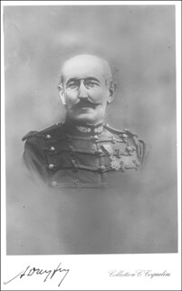 Autographs: ALFRED DREYFUS - PICTURE POST CARD SIGNED