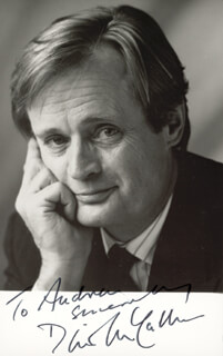 DAVID McCALLUM - AUTOGRAPHED INSCRIBED PHOTOGRAPH