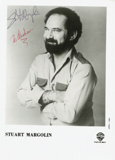 STUART MARGOLIN - AUTOGRAPHED INSCRIBED PHOTOGRAPH