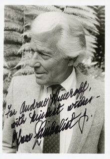 EFREM ZIMBALIST JR. - AUTOGRAPHED INSCRIBED PHOTOGRAPH