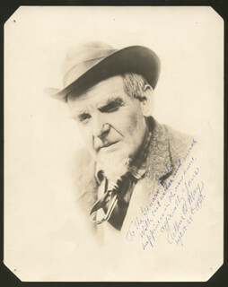 ARTHUR O. MAY - AUTOGRAPHED INSCRIBED PHOTOGRAPH 09/19/1927