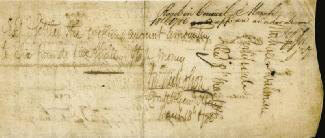 Autographs: JOHN NICHOLSON - PROMISSORY NOTE SIGNED 03/18/1786 CO-SIGNED BY: ANDREW DOZ