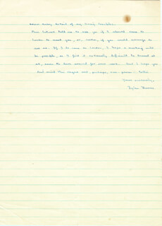 DYLAN THOMAS - AUTOGRAPH LETTER SIGNED 09/20/1937