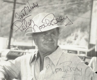 NOAH BEERY JR. - AUTOGRAPHED INSCRIBED PHOTOGRAPH