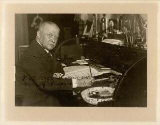 FRANZ LEHAR - AUTOGRAPHED INSCRIBED PHOTOGRAPH 1930