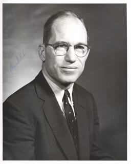 ASSOCIATE JUSTICE BYRON R. WHITE - AUTOGRAPHED SIGNED PHOTOGRAPH